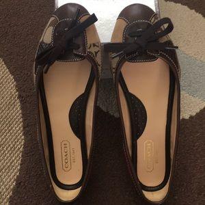 Authentic Coach shoes, size 7.5